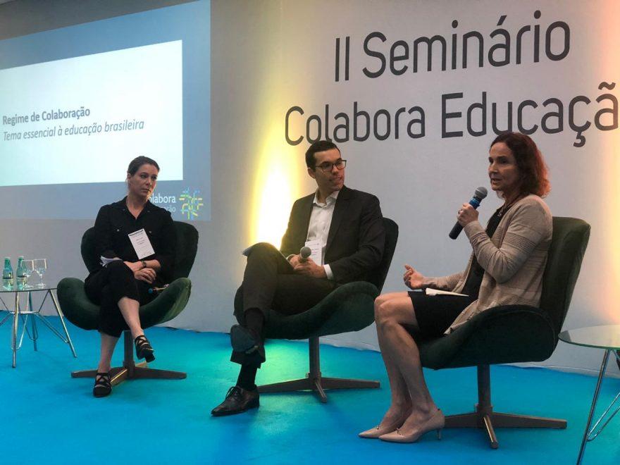 Em evento em Brasília, Izolda Cela reforça importância de ações colaborativas para o desenvolvimento da Educação