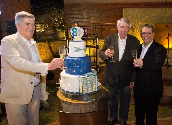 Grupo J. Macêdo comemora 80 anos com coquetel na CasaCor Ceará