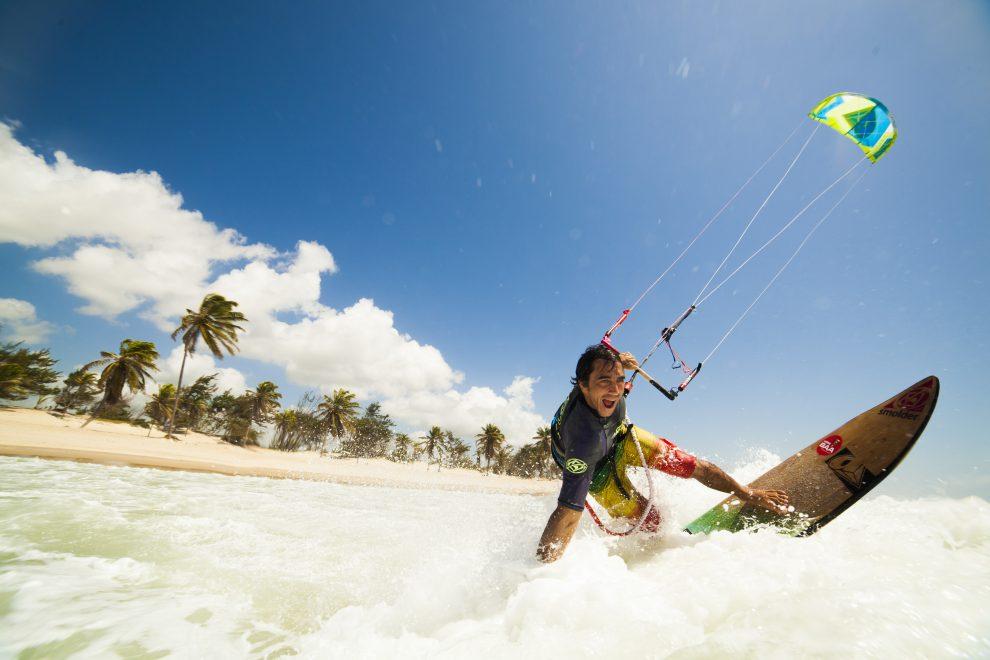 Ceará promoverá recorde mundial de kitesurf registrado pelo Guinness Book