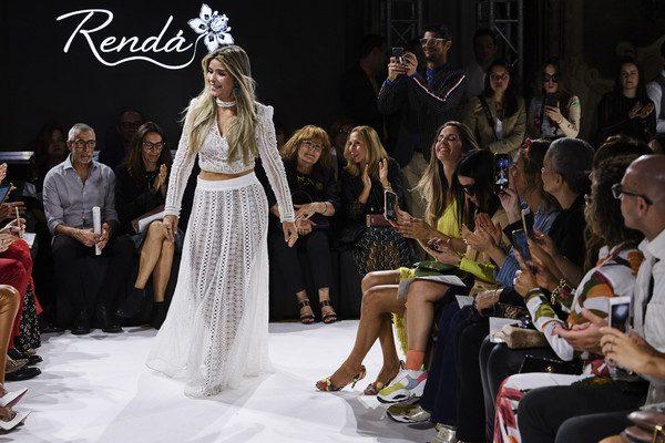 Camila Arraes levou sua Rendá para a Semana de Moda de Milão