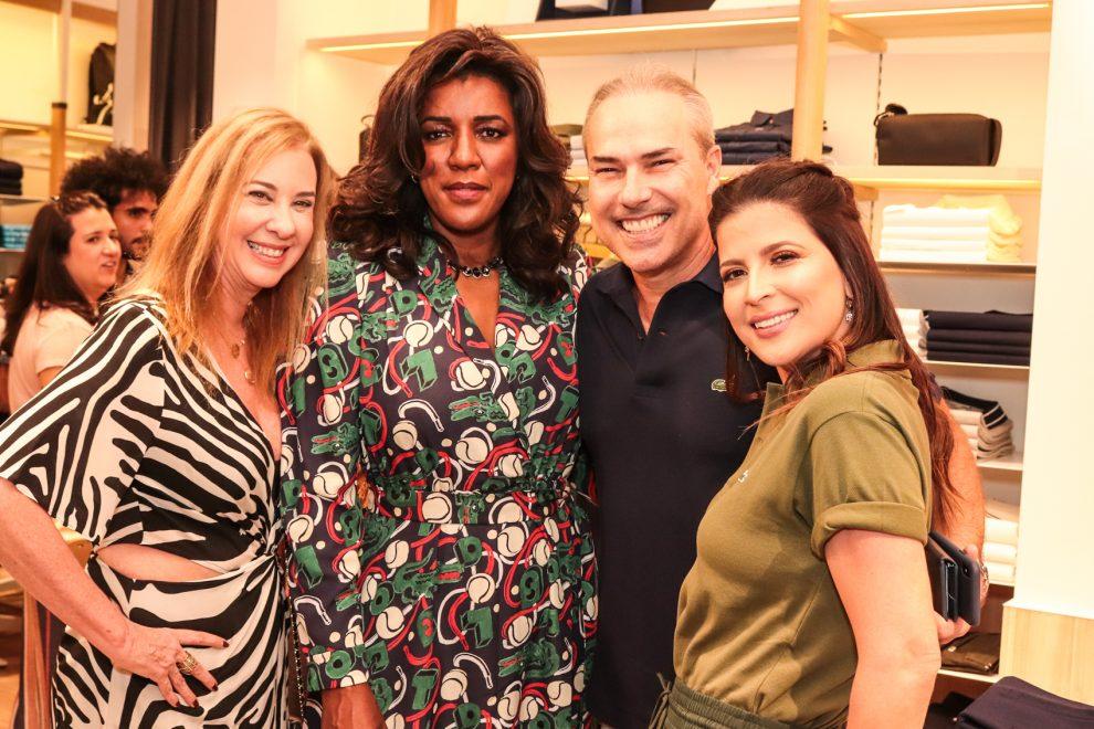 Rachel Maia, CEO da Lacoste, prestigia abertura de nova loja da marca em Recife