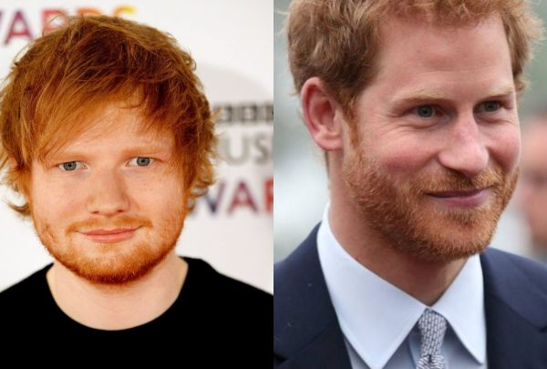 Príncipe Harry e Ed Sheeran fazem campanha sobre saúde mental