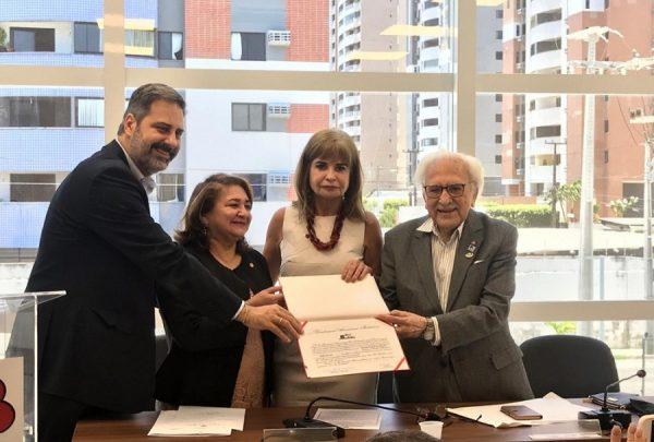 Maria Vital é empossada como membro efetivo do Instituto dos Advogados Brasileiros