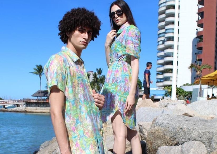 Matias Ateliê e Giovanna Sampaio lançam coleção que une aquarelas e moda