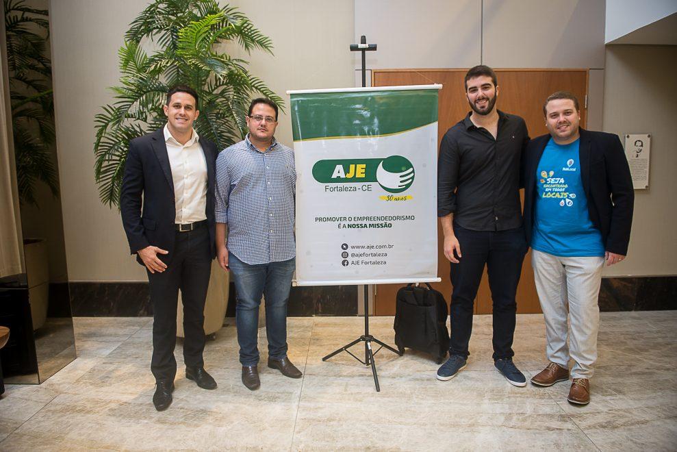 AJE Fortaleza promove evento concorrido sobre startups e novas tecnologias