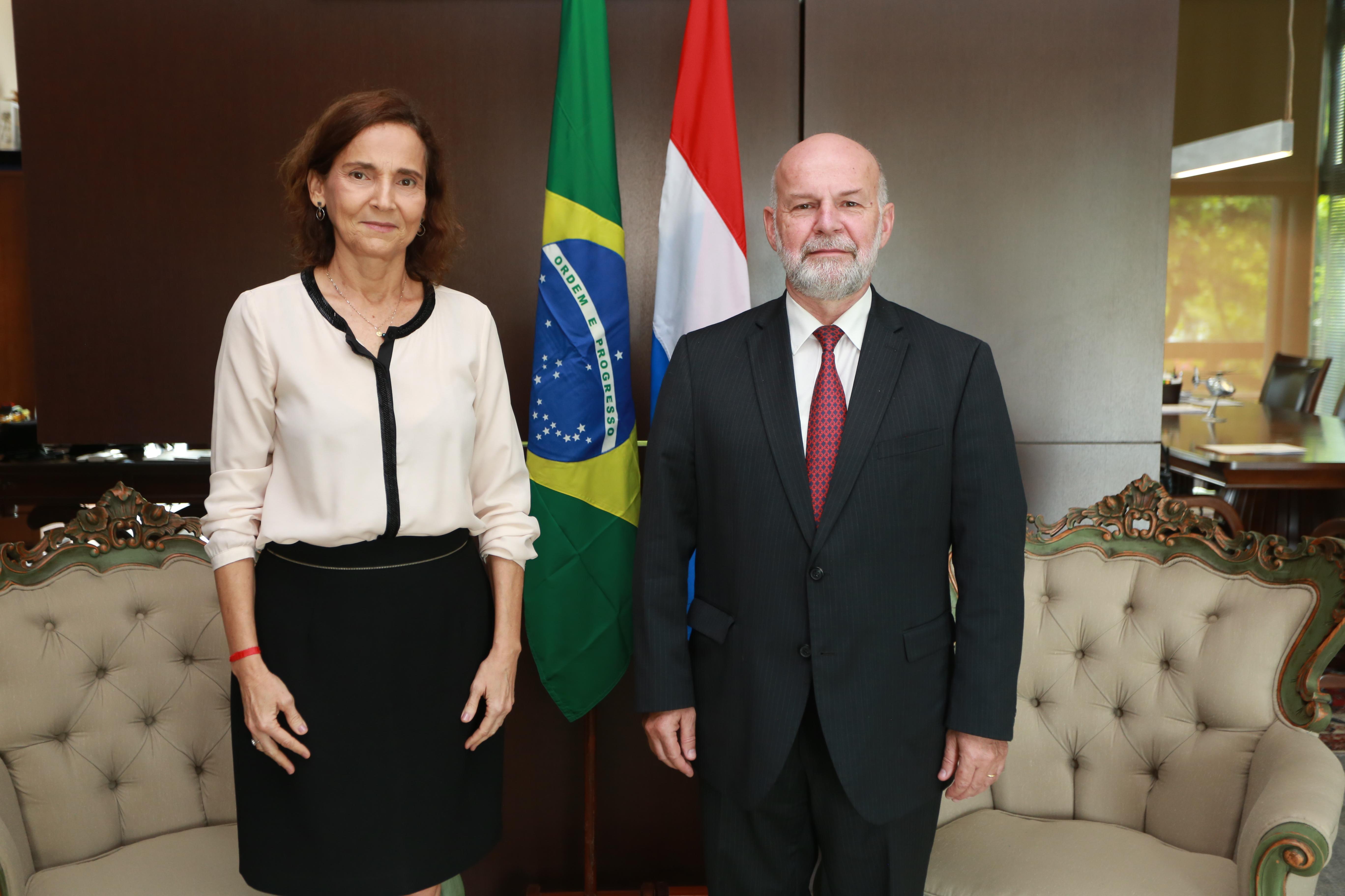 Governo do Ceará recebe visita oficial do embaixador de Luxemburgo
