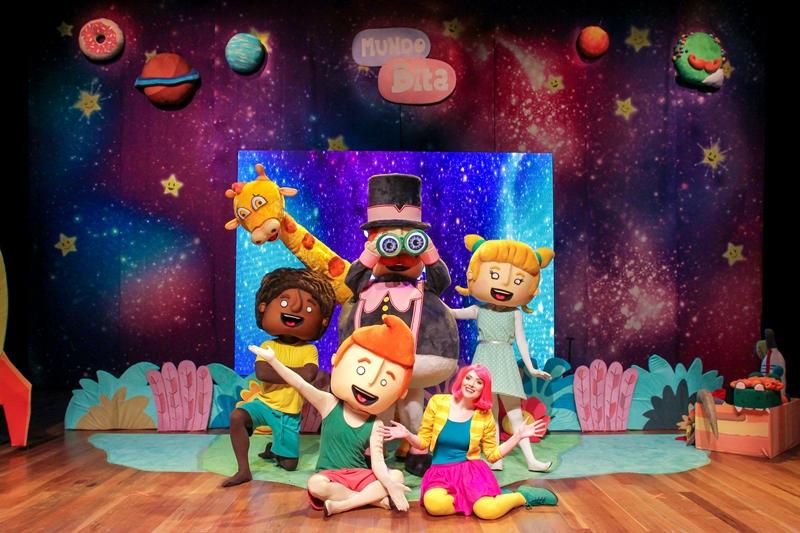 Espetáculo infantil Mundo Bita chega em Fortaleza neste domingo (6)