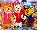 Shopping Benfica realiza espetáculo infantil com grupo Patrulha Dog