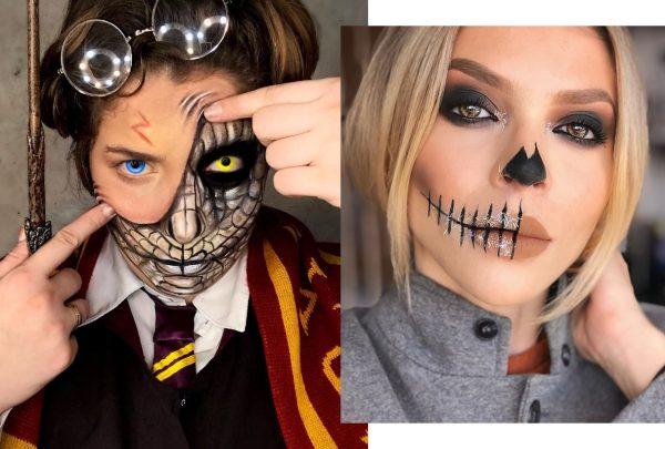 Make de Halloween: Karla Alexandrina e Ana Rema dão dicas de produções