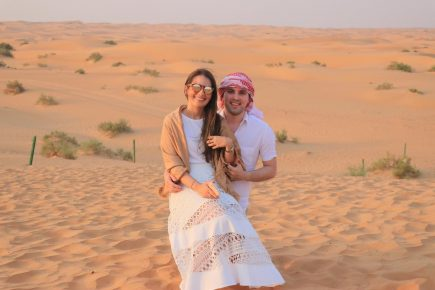 Manuela Câmara e Tomas Moraes nos Emirados Árabes: Casal lista lugares imperdíveis para conhecer
