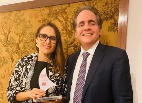 Manoela Queiroz Bacelar é homenageada durante Fórum de Ciência Penal em Lisboa