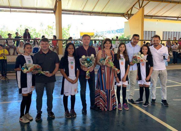 Sistema Fecomércio inaugura três núcleos do projeto Futsal Sesc no interior do Ceará