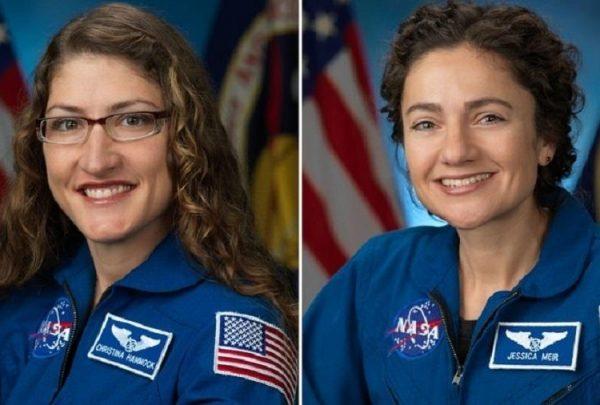 NASA anuncia primeira missão espacial com equipe 100% feminina