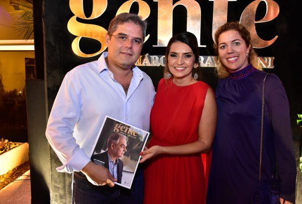 Revista Gente por Márcia Travessoni é lançada em noite marcante para a sociedade cearense