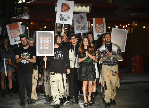 Ellus leva ativismo ambiental para desfile de abertura da SPFW