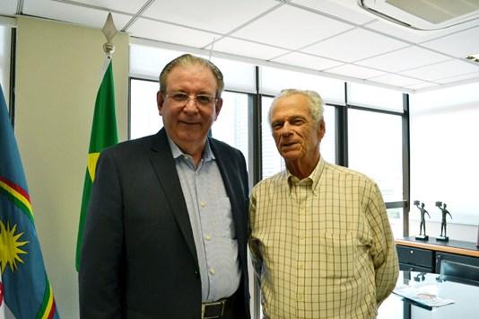 Ricardo Cavalcante visita presidente da Federação das Indústrias de Pernambuco