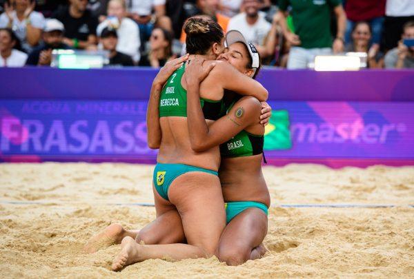Com a cearense Rebecca Silva, Brasil define duplas do vôlei de praia para as Olimpíadas de 2020