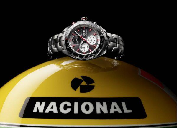 Tag Heuer lança relógios em homenagem a Ayrton Senna