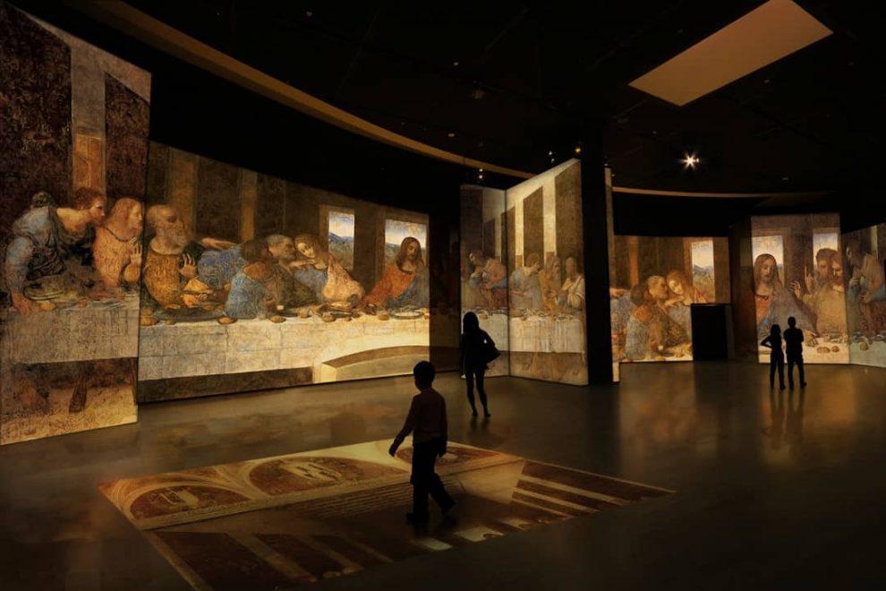 Megaexposição imersiva sobre Leonardo da Vinci é inaugurada em São Paulo; confira