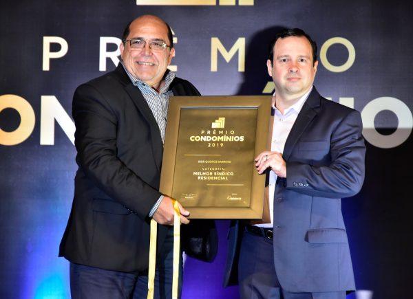 Igor Queiroz Barroso recebe prêmio de melhor síndico de 2019; veja os cliques
