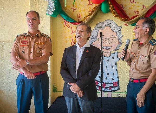 Construtora Colmeia entrega parquinho infantil para escola do Corpo de Bombeiros no Ceará