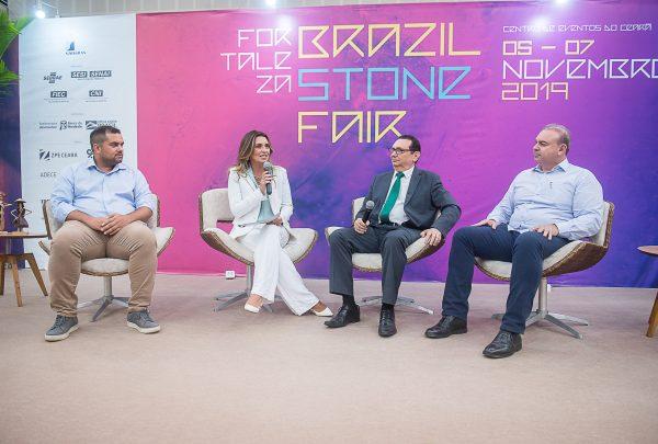 Fortaleza Brazil Stone Fair abre com talk comandado por Márcia Travessoni