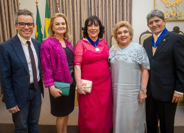 Academia Cearense de Letras celebra 125 de fundação em noite de homenagens