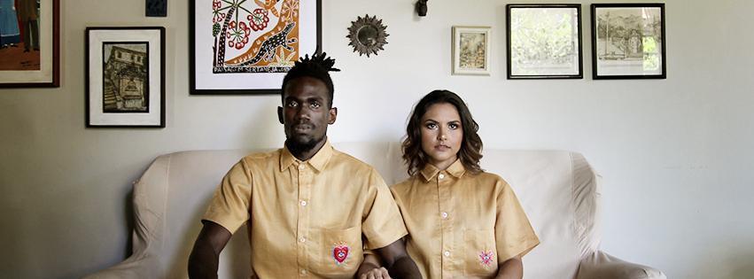 Cândida Lopes lança coleção de roupa agênero