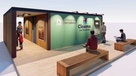 Fortaleza terá sala de cinema nos terminais de ônibus