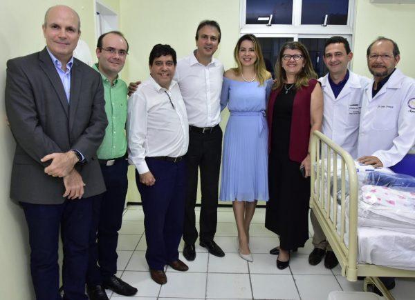 Hospital infantil inaugura ala em homenagem à mãe de Onélia Santana