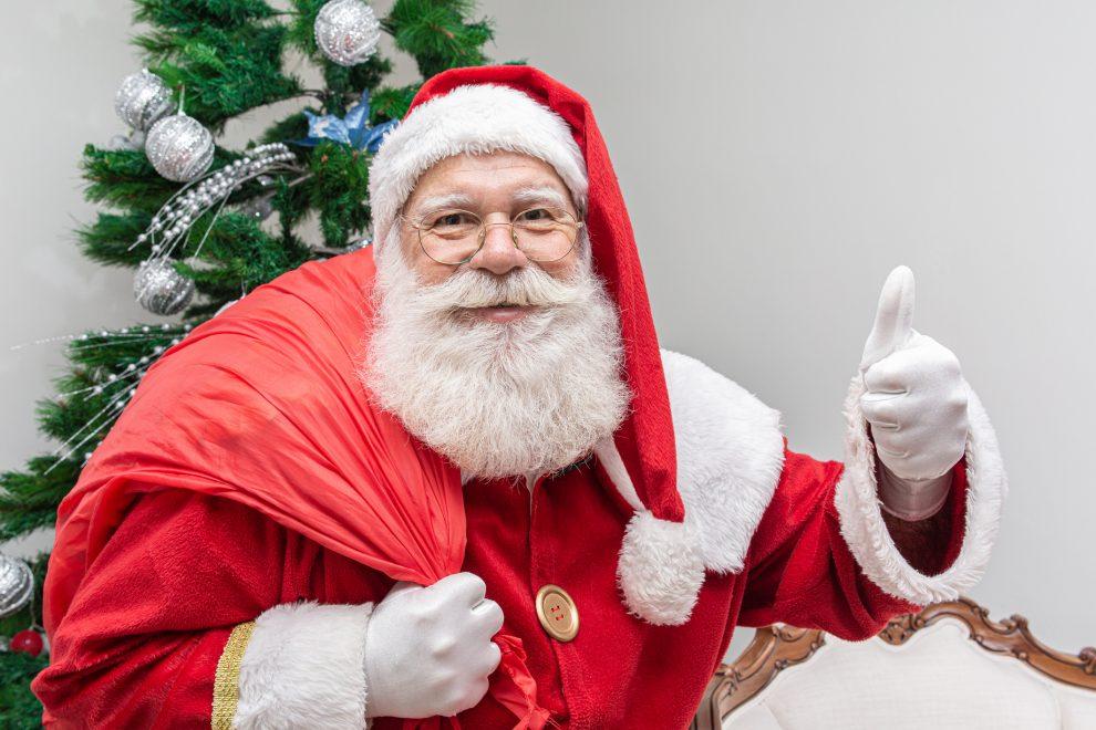 Confira a agenda da chegada do Papai Noel nos shoppings de Fortaleza