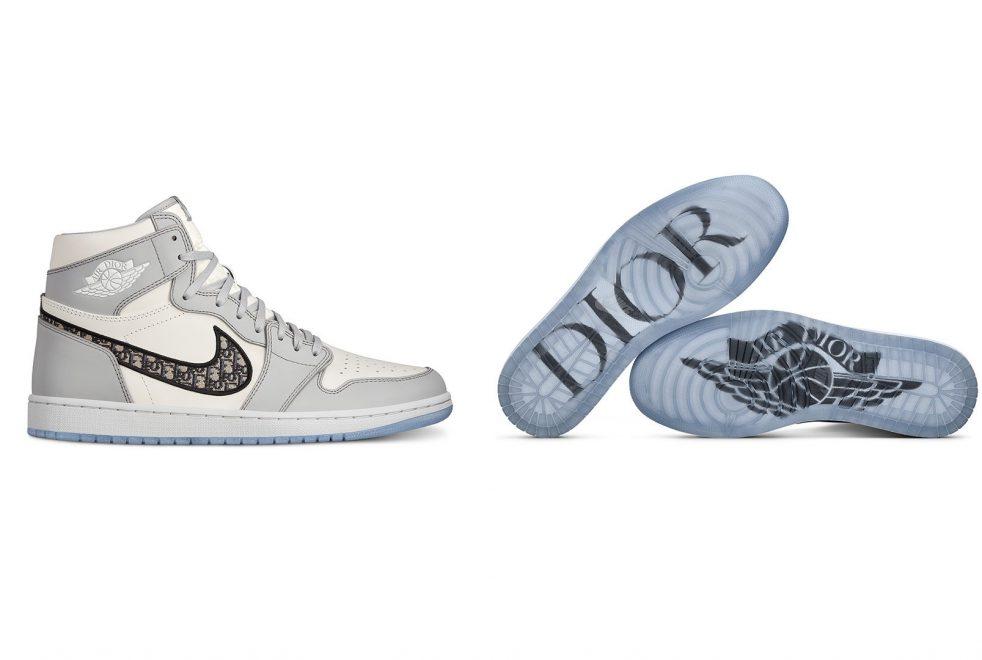 Nike e Dior divulgam collab em Miami; veja a releitura do tênis Air Jordan