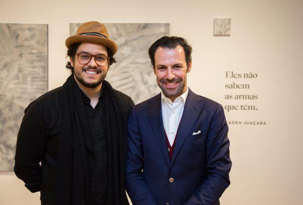 Abertura de exposição de Cadeh Juaçaba reúne cearenses em Lisboa