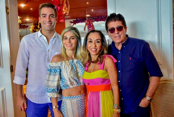 Márcia Távora promove aniversário intimista para a família