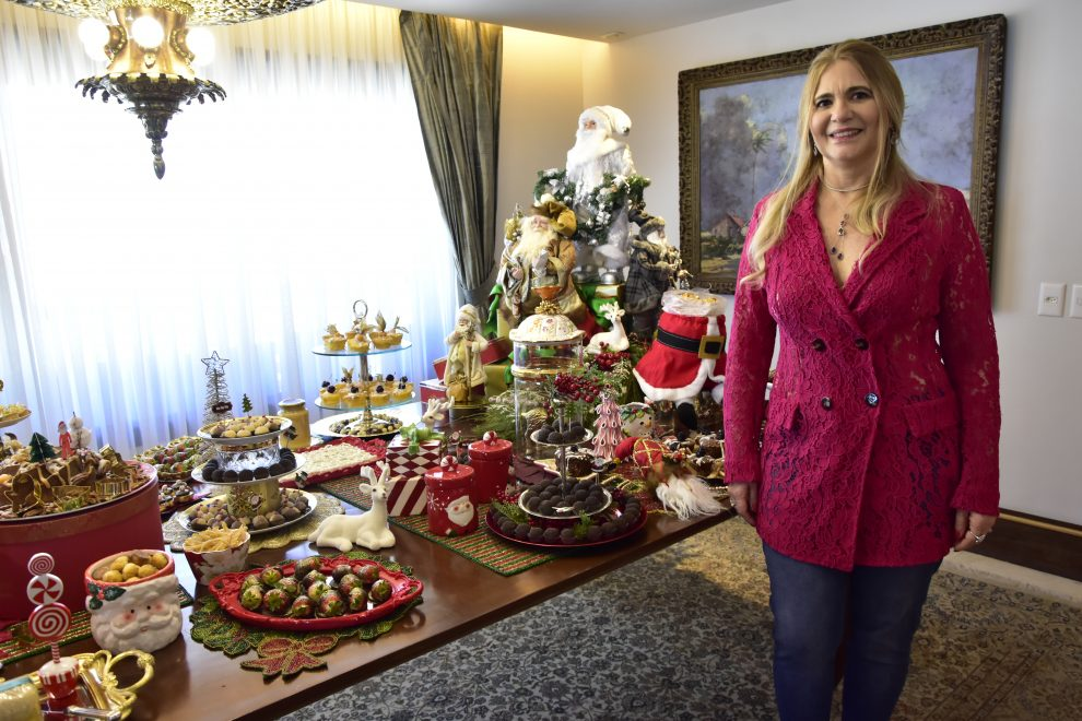 Morgana Dias Branco realiza o tradicional 'Natal das Amigas'