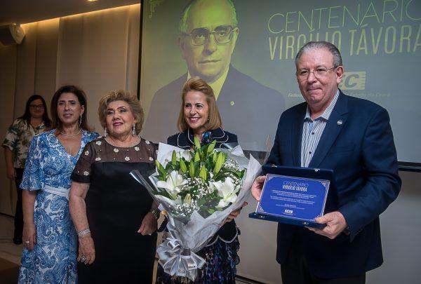 Fiec homenageia centenário de Virgílio Távora; veja cliques