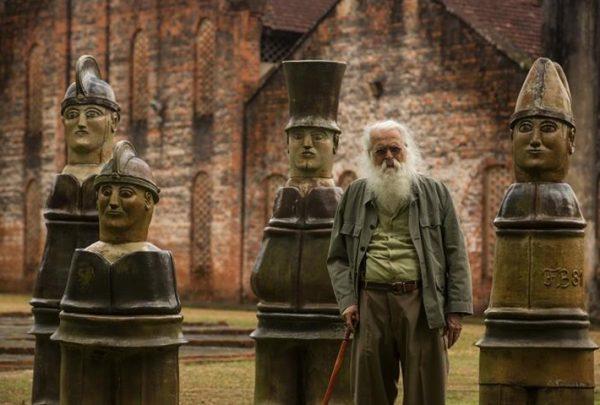 Morre o artista plástico pernambucano Francisco Brennand aos 92 anos