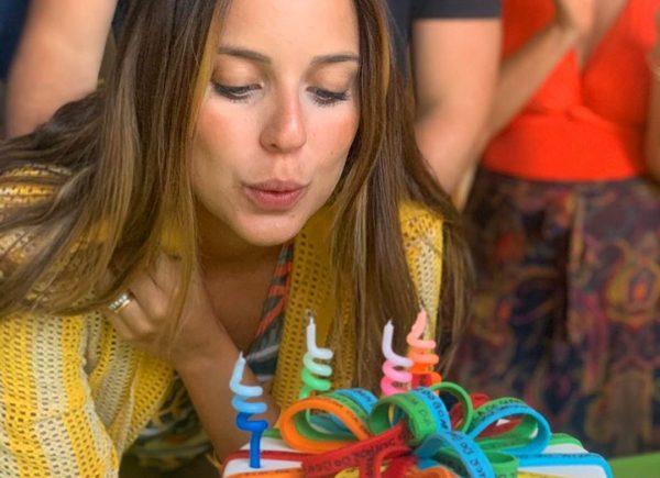 Fernanda Levy celebra 27 anos com viagem em família