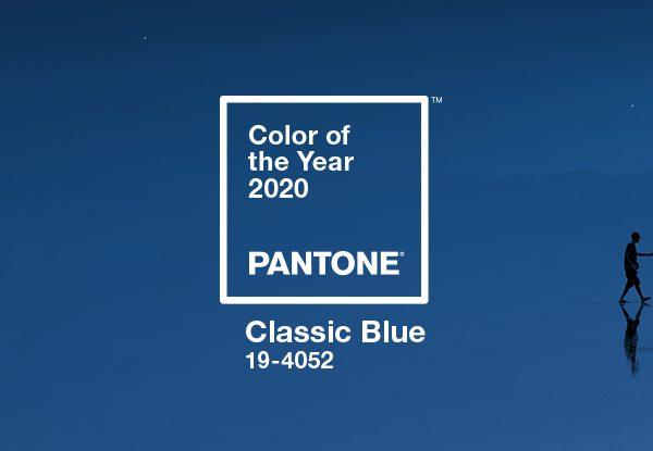 Pantone revela a cor do ano 2020: Classic Blue