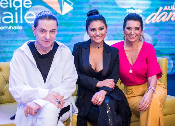 Márcia Travessoni, Mileide Mihaile e Claudio Torelli participam de talk sobre o poder da imagem