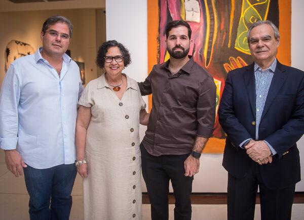 Lide Ceará reúne associados em preview da exposição 'Leonilson por Antonio Dias'