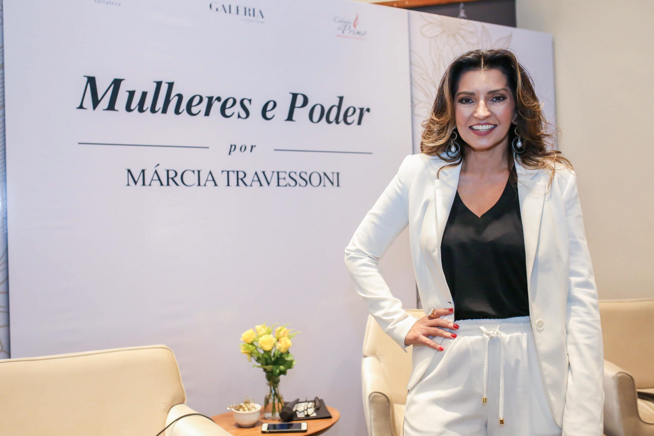 Márcia Travessoni é homenageada no Prêmio RioMar Mulher na categoria Comunicação