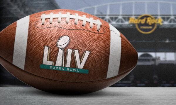 Hard Rock Fortaleza transmite Super Bowl com mega estrutura; veja detalhes