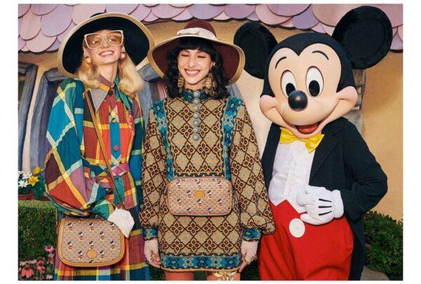 Gucci lança coleção dedicada ao Mickey; peças estarão disponíveis no Brasil ainda em janeiro
