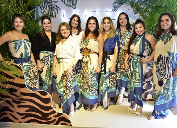Lenita reúne convidadas para lançamento da coleção South Africa; confira os cliques