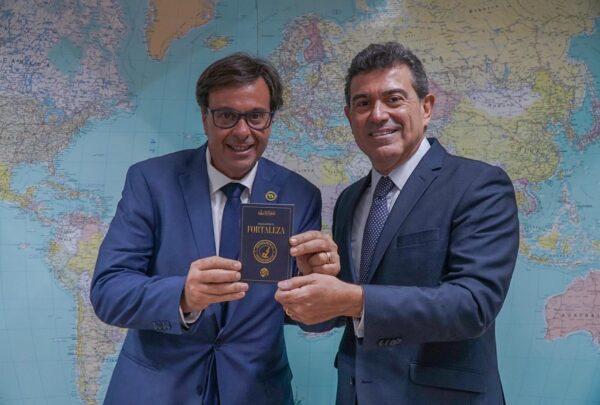 Alexandre Pereira se reúne com o presidente da Embratur em Brasília