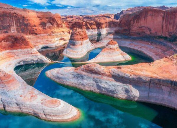 Descubra os nove lagos mais 'instagramáveis' do mundo