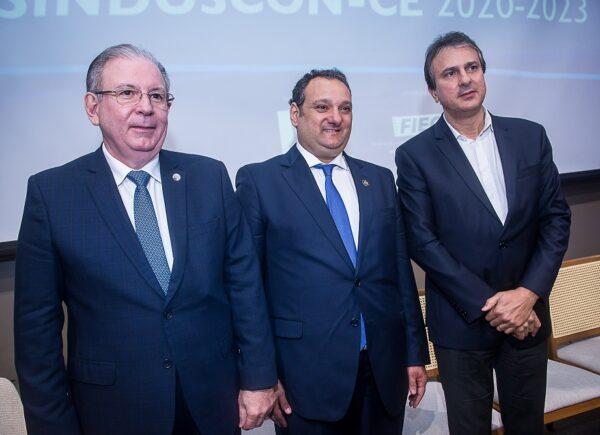 Sinduscon Ceará empossa nova gestão com Patriolino Dias na presidência; veja as fotos