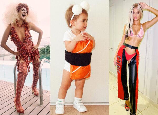 Dez fantasias de famosas para se inspirar neste Carnaval