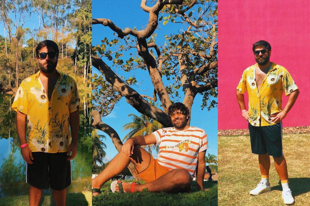 Gabriel Baquit se inspira no Ceará para criar moda